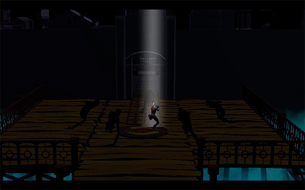 Soteria, computer game by Doris Rush